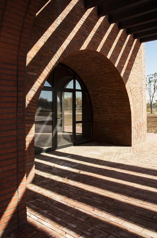 Gallery entrance. Image © Zhi Geng