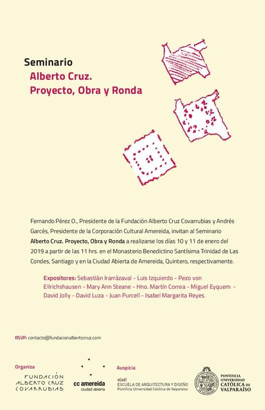 Alberto Cruz: Proyecto, Obra y Ronda