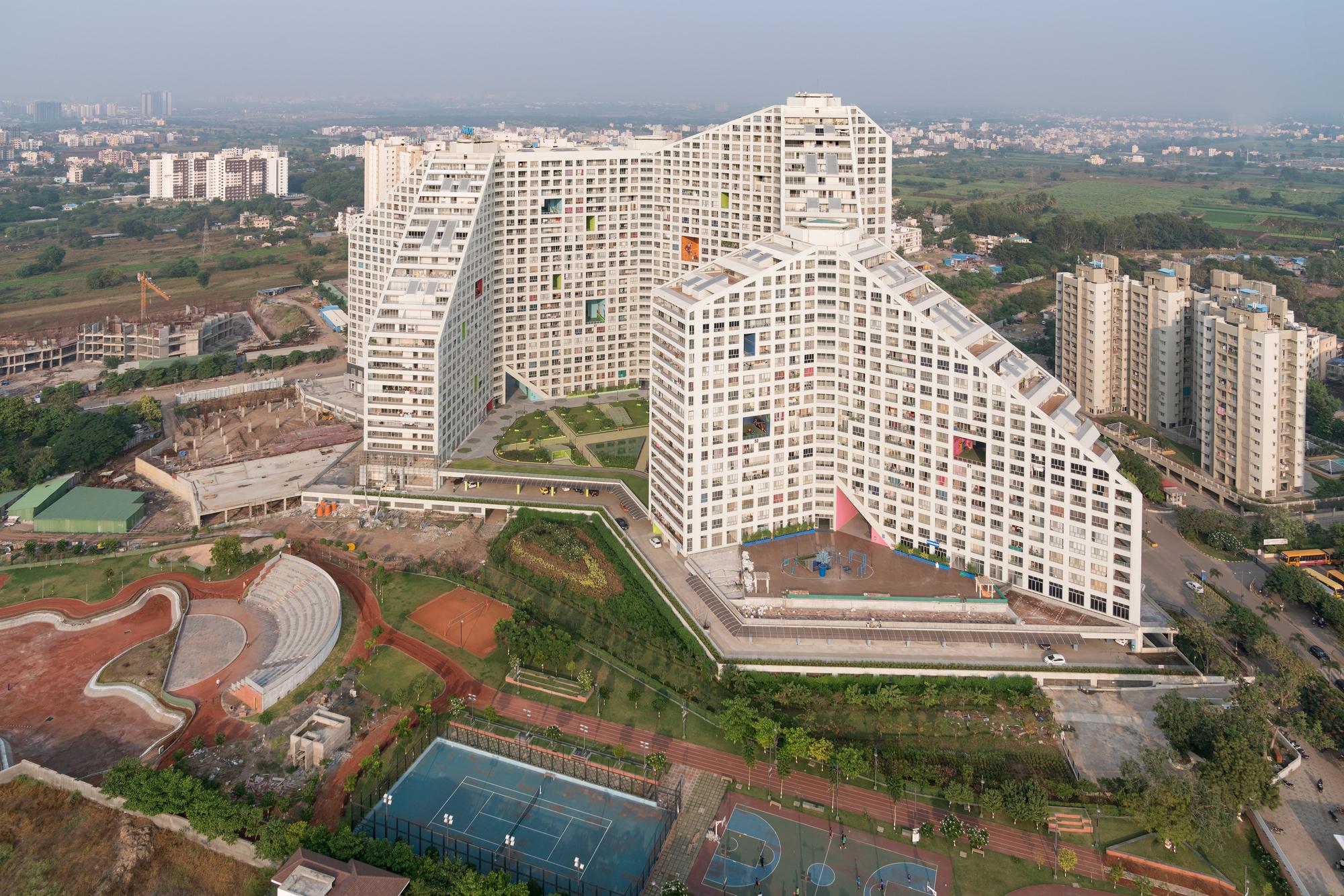 Future Towers Mvrdv Archdaily