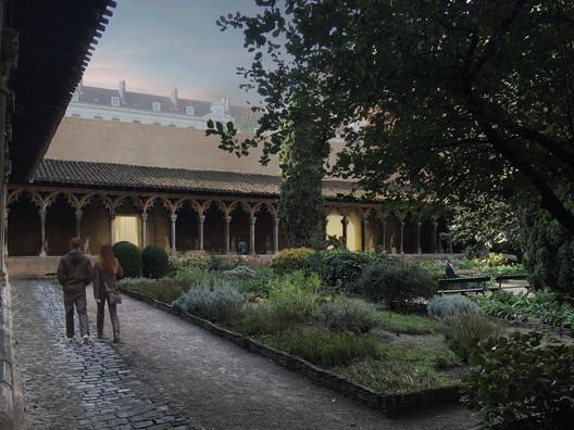 Musée des Augustins à Toulouse. Image Courtesy of Aires Mateus