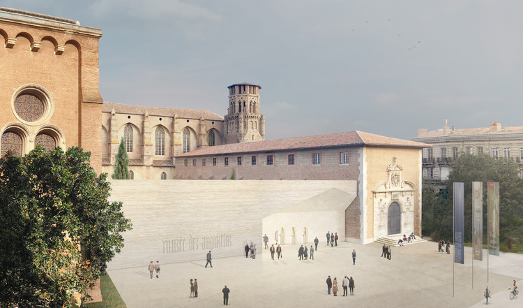 Aires Mateus Reveals Design for the Toulouse Fine Art Museum, Musée des Augustins à Toulouse. Image Courtesy of Aires Mateus
