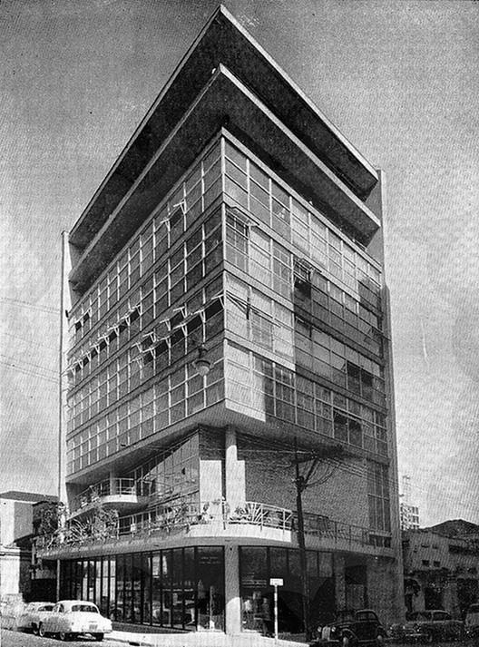 Clássicos da Arquitetura: Edifício Sede IAB-SP / Rino Levi, Miguel Forte, Abelardo de Souza e equipe , Cortesia de Arquivo Arqbr via IAB-SP