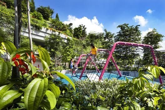 WOHA Architects - Kampung Admirality . Image © Patrick Bingham Hall