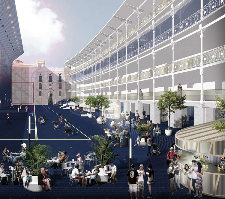Estos son los ganadores del proyecto de rehabilitaci n del front n beti jai en madrid - Colegio oficial arquitectos madrid ...
