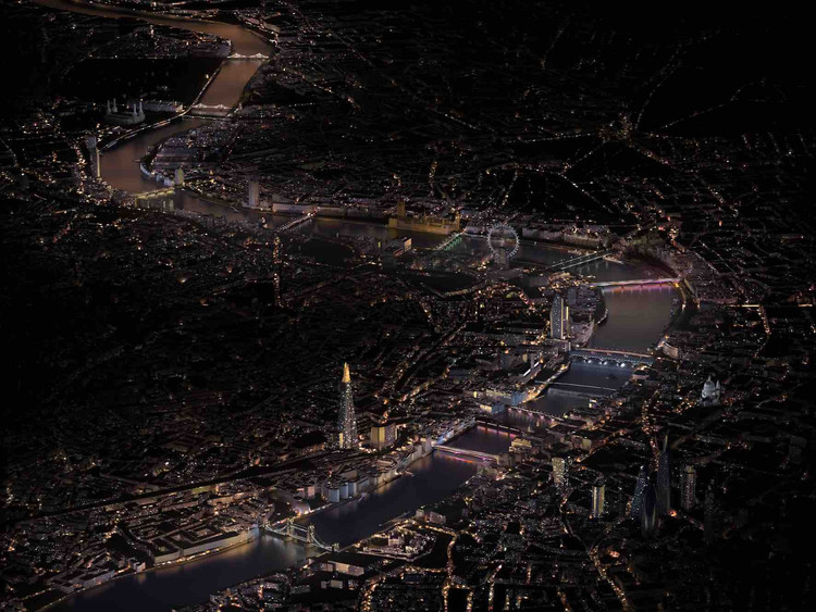 The Illuminated River will Transform London's Thames with Light, Courtesy of Leo Villareal Studio