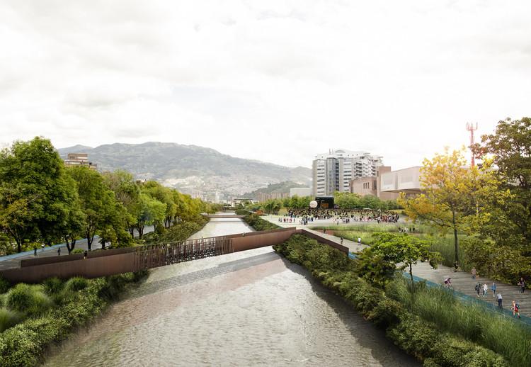 Parques del Río en Medellín, único proyecto colombiano ganador del WAF, Etapa 1A de Parques del Río, Medellín. Image © Latitud Taller de Arquitectura y Ciudad