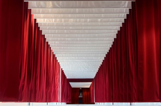 Central pavilion. Image © Mathias Magg