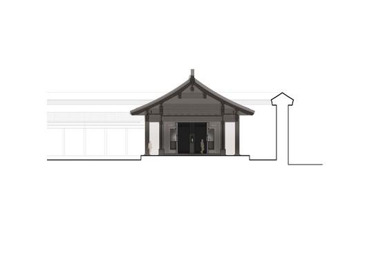 Cross section_north pavilion