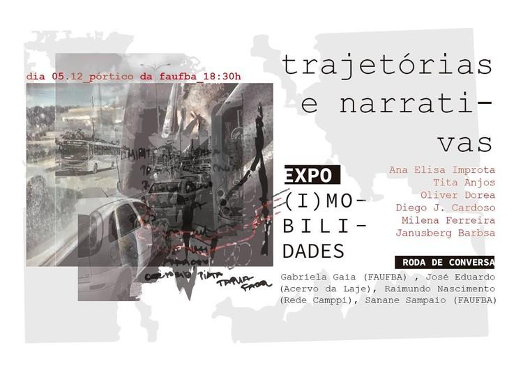 Abertura Expo (I)Mobilidades: Trajetórias e Narrativas + Roda de Conversa, Abertura da exposição (I)Mobilidades: Trajetórias e Narrativas (Coletivo Sabinada - Salvador/BA)