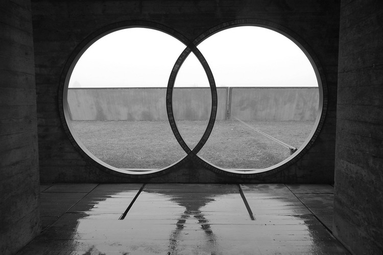 Carlo Scarpa, o arquiteto da água, Tumba Brion [Altivole, 1969-78]. Image © Antonio Trogu [Flickr bajo licencia CC BY-NC 2.0]