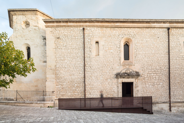 San Francesco Church Catwalk / Nunzio Gabriele Sciveres + Giuseppe Gurrieri , © Filippo Poli