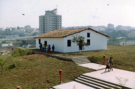Main house in Sítio Ressaca. Image courtesy of Shieh Arquitetos Associados
