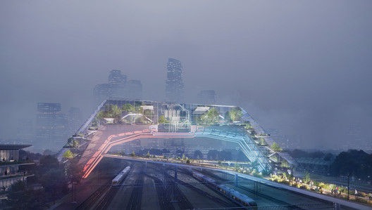 City of the Future. Image Courtesy of Plompmozes