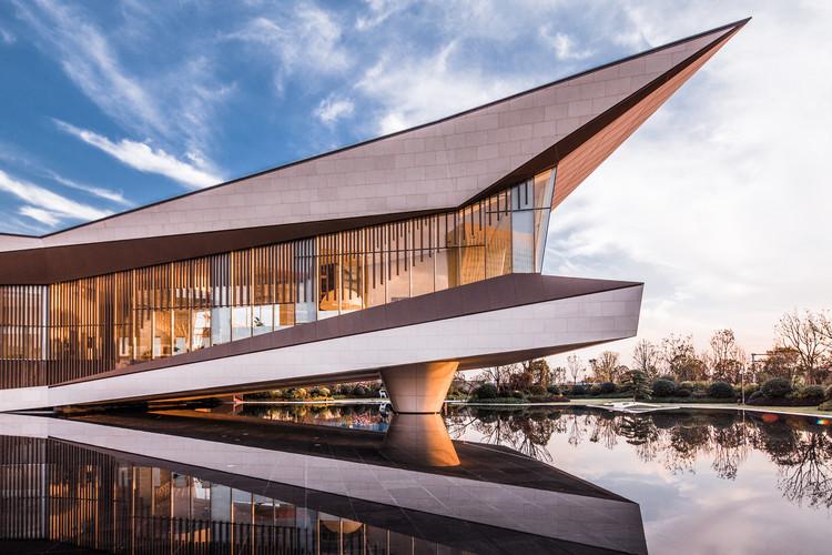 Langtin Yuanzhu Experience Hall / CHALLENGE DESIGN, © Weimin Yu