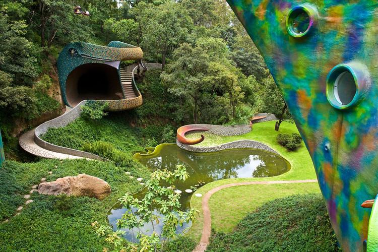 Ninho de Quetzalcóatl / Javier Senosiain, Cortesía de Javier Senosiain