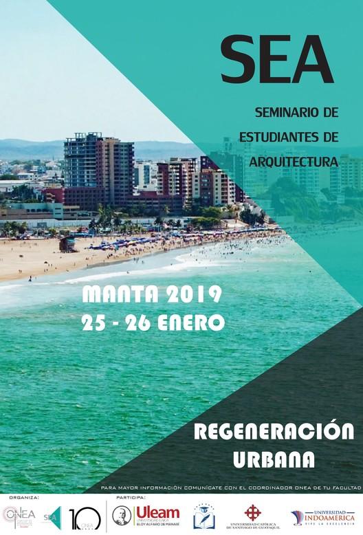 SEA Manta 2019: III Seminario de Estudiantes de Arquitectura, Onea Ecuador