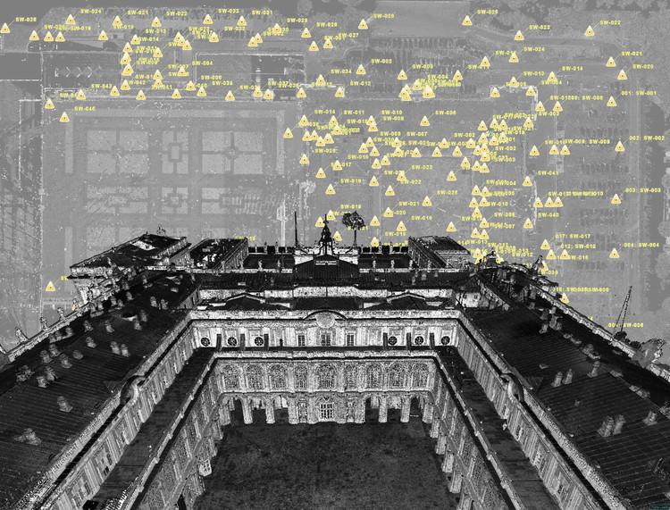 Una nube de puntos dota al Palacio Real de España un modelo 3D casi milimétrico, Cortesía de Leica Geosystems