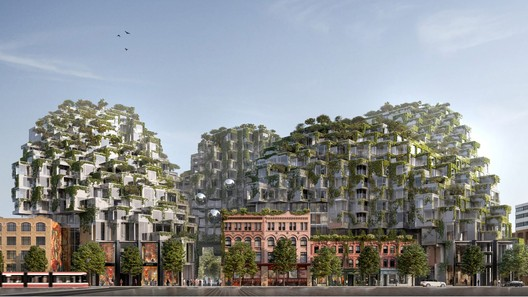 KING Toronto. Image Courtesy of Bjarke Ingels Group