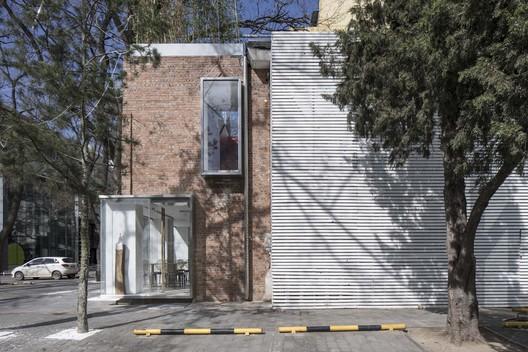 East facade. Image © FangFang Tian