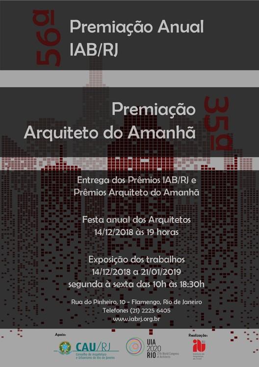 56ª Premiação IAB-RJ e 35ª Premiação Arquiteto do Amanhã, IAB-RJ