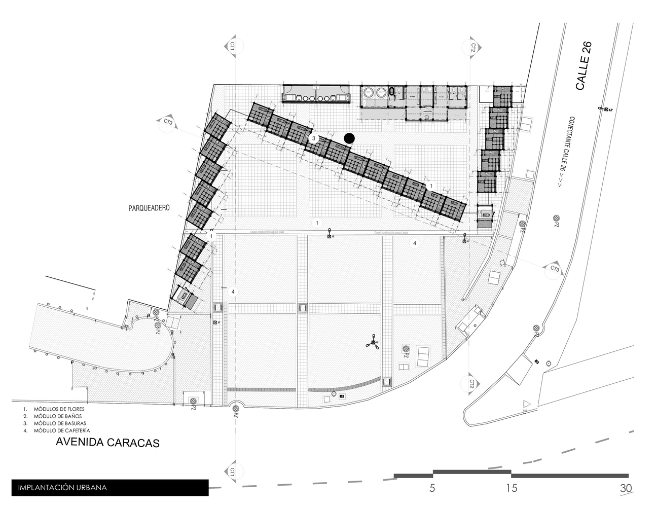 Gallery Of Markets Examples In Plan And Section 28
