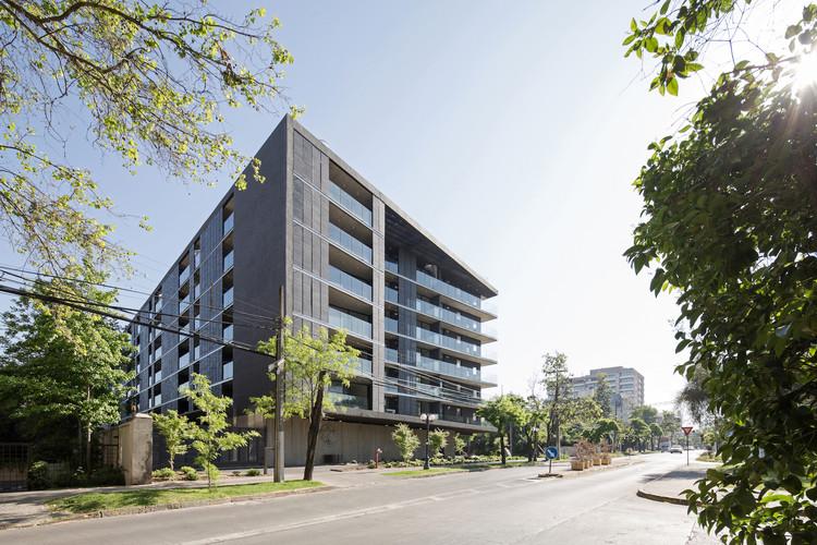 PAU: Estos son los seis mejores proyectos inmobiliarios del 2018 en Chile, Willie Arthur 78 (WA78), elegido mejor proyecto de edificación hasta 10 pisos en PAU 2018. Image Cortesía de WA78