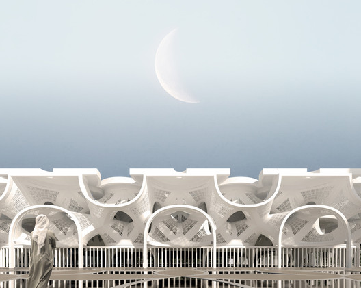 Mosque of Light. Image Courtesy of NUDES