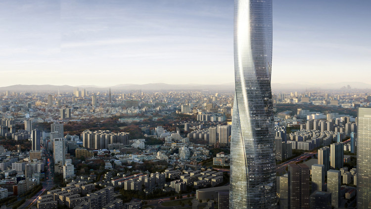 EID Architecture Creates Twisting Supertall Tower for Fuzhou, China, Shimao Fuzhou Tower. Image Courtesy of EID Architecture