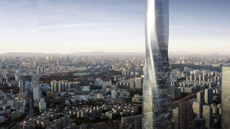 EID Architecture projeta arranha-céu torcido em Fuzhou, na China, Shimao Fuzhou Tower. Image Courtesy of EID Architecture