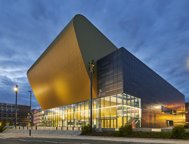 Bonus Arena Hull / AFL Architects, Cortesia de AFL Architects