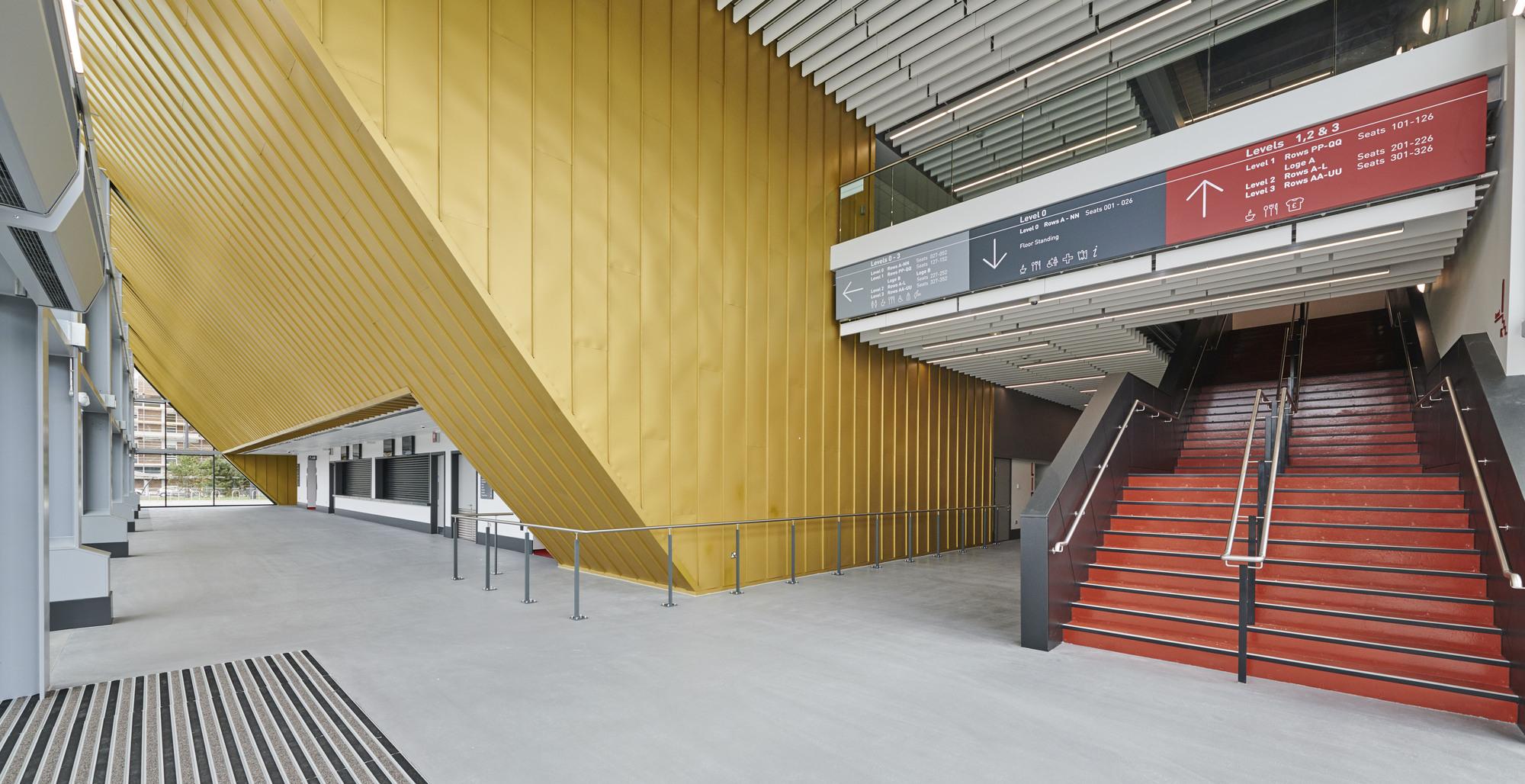 Gallery Of Bonus Arena Hull Afl Architects 7