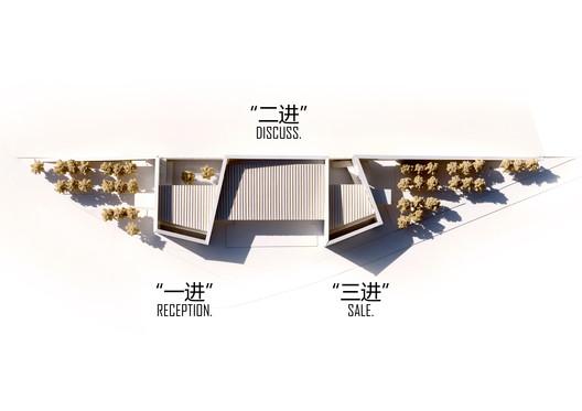 Model. Image Courtesy of ZHUBO DESIGN