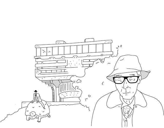 """Anécdotas de Clorindo Testa: """"que si la idea no muere, el proyecto no nace"""" , <a href='https://queridomies.blogspot.com/2018/01/el-dia-que-testa-hallo-al-gilpodonte.html'>El día que Testa halló al Gliptodonte</a>. Image Cortesía de Gerardo Pagnutti"""