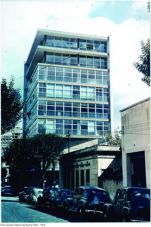 IAB 75 anos: registros da história para pensar o futuro da instituição, Fotografia de Gustavo Neves da Rocha Filho (1954). Image Cortesia de IAB - SP