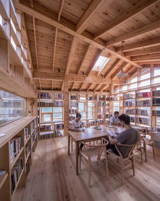 Reading space . Image © Yilong Zhao