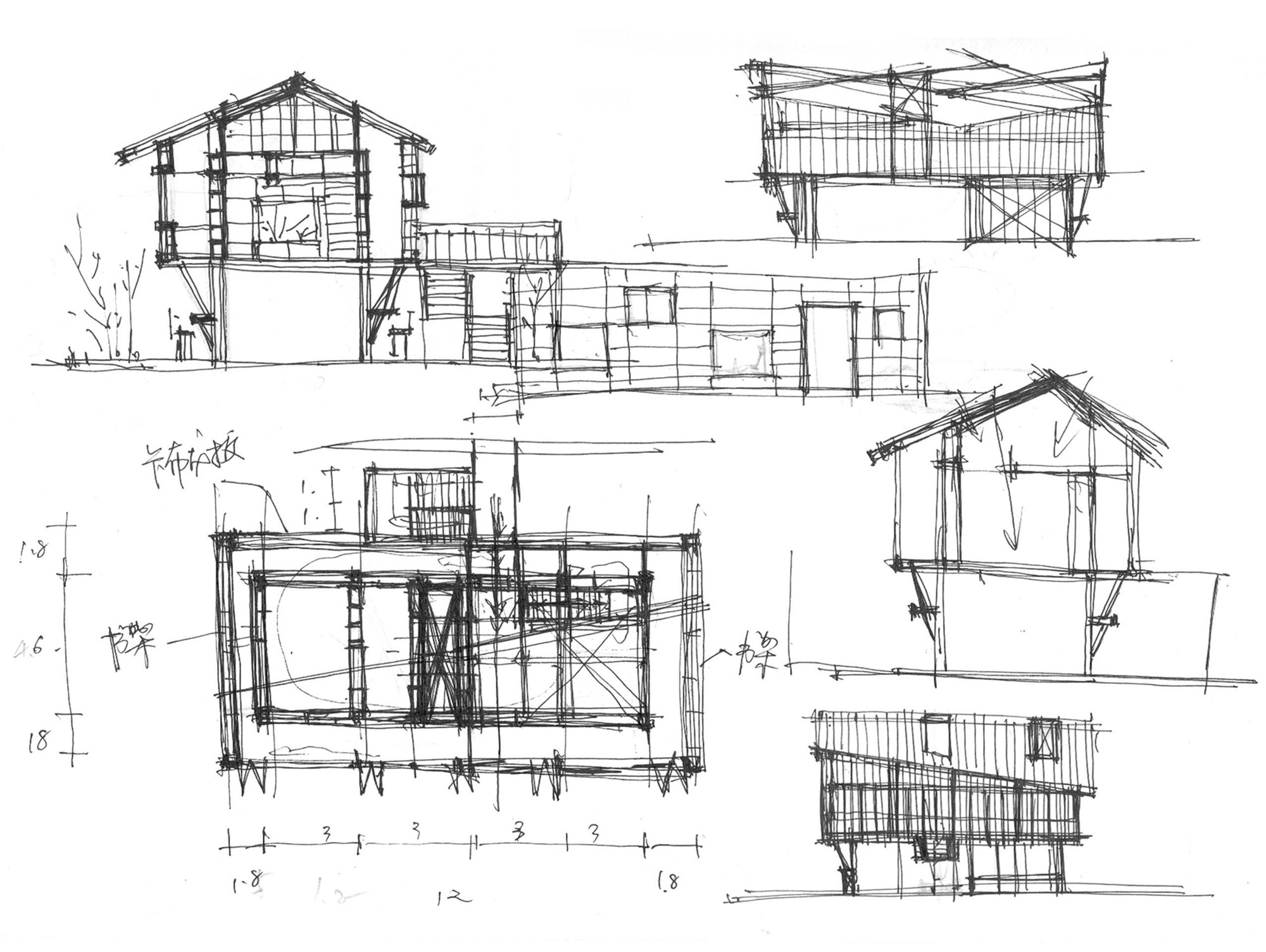 Gallery Of Mountain House In Mist Shulin Architectural