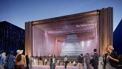 Pavilhão da Holanda para a Expo 2020 cria um ecossistema temporário no deserto