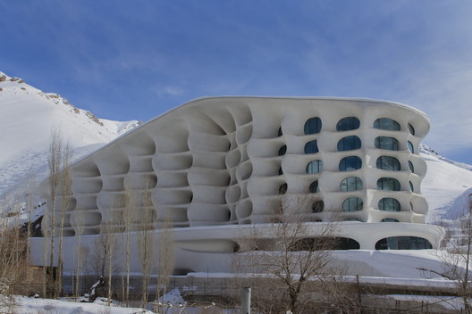 Barin Ski Resort - Ryra Design Studio - Iran. Image © A' Design Awards