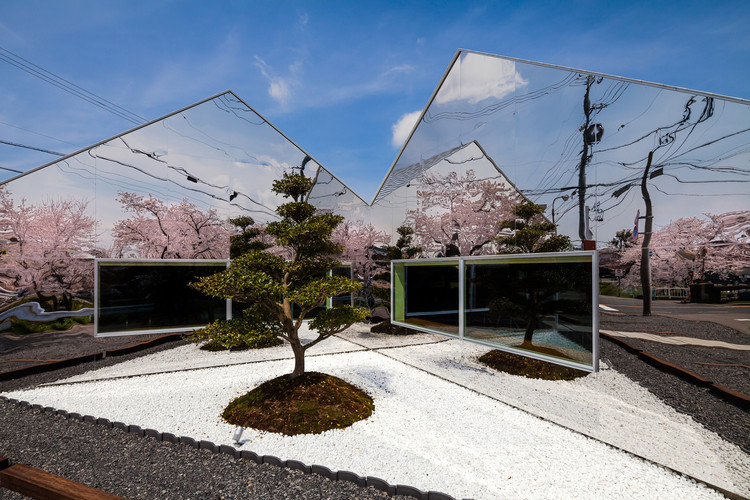 A' Design Awards Announce World Design Rankings, Mirrors Cafe - Hisanori Ban - Japan. Image © A' Design Awards