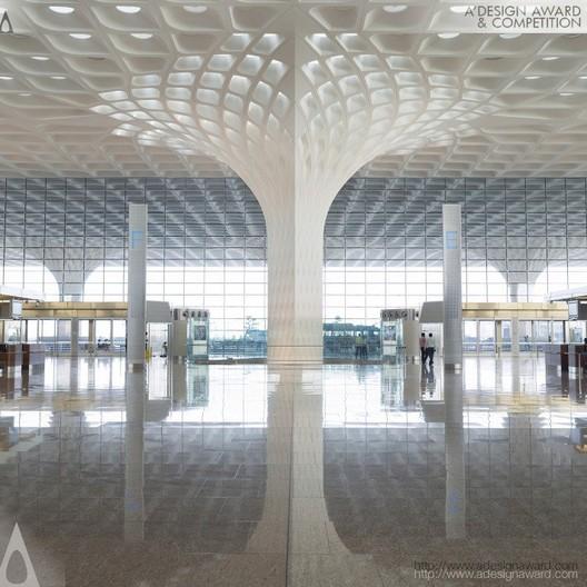 Chhatrapti Shivaji International Airport - Mumbai International Airport Ltd. & SOM - India. Image © A' Design Awards