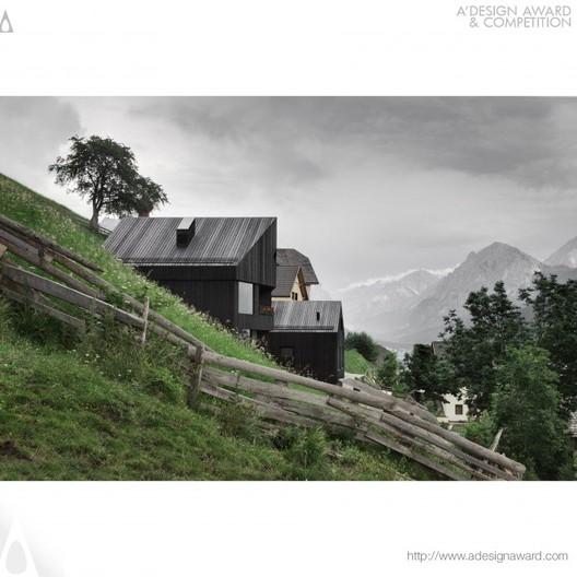 Chalet La Pedevilla - Pedevilla Architects - Italy. Image © A' Design Awards
