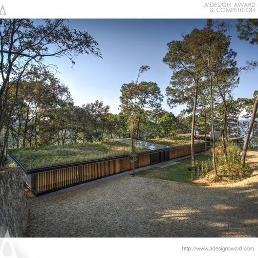 Irekua Anatani Residential House - Broissin Architects - Mexico. Image © A' Design Awards