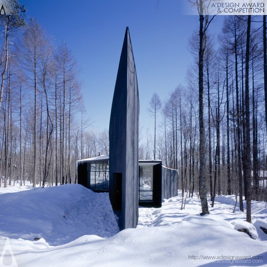 Kiyosato Villa with Exhibition Space - Satoshi Okada - Japan. Image © A' Design Awards