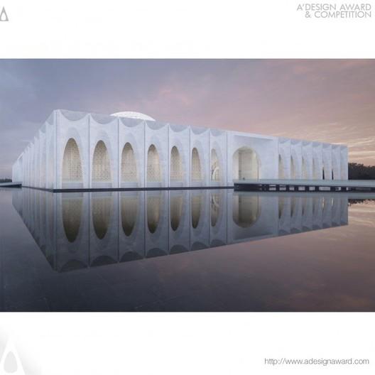Da Chang Muslim Cultural Center - Hejingtang Design Studio - China. Image © A' Design Awards