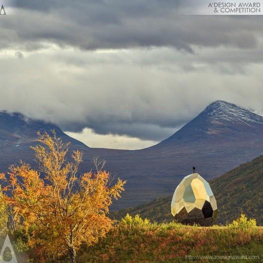 Solar Egg – More than a Sauna - Futurniture and Bigert & Bergström - Sweden. Image © A' Design Awards