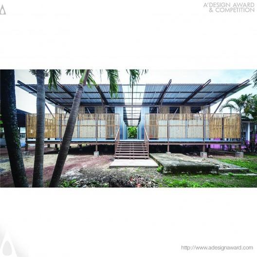 Baan Nong Bua School - Jun Sekino - Thailand. Image © A' Design Awards