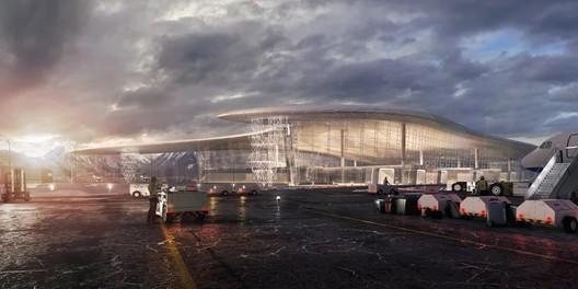 Gelendzhik Airport. Image Courtesy of Studio Fuksas