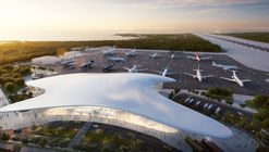 Studio Fuksas Wins Competition for Gelendzhik Airport in Russia