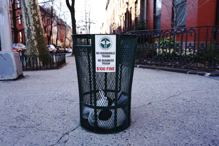 Three Teams Selected to Reimagine New York City's Green Trash Bins, Courtesy of New York City Department of Sanitation