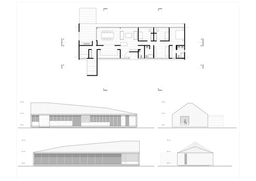 Ground Floor Plan and Elevations